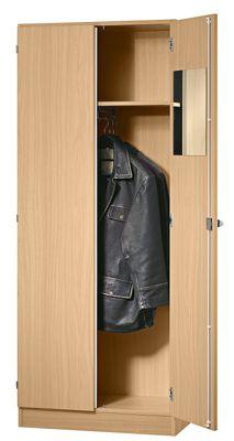 FINO Garderobenschrank - mit 1 Fachboden und 1 Kleiderstange