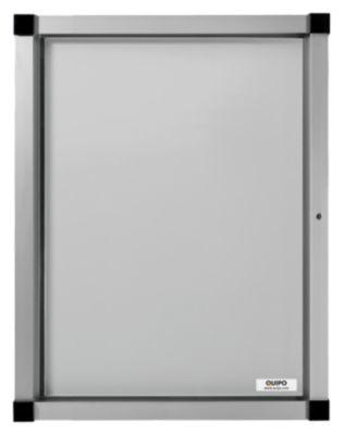 QUIPO Schaukasten, Flügeltür - 4 (2 x 2) DIN-A4-Blätter