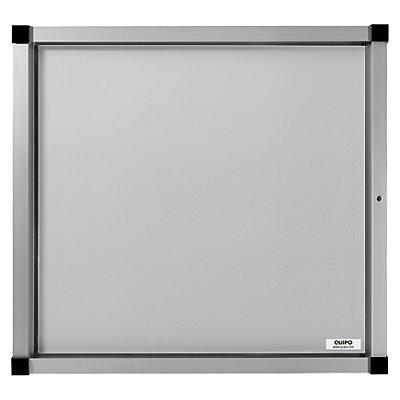 QUIPO Schaukasten, Flügeltür - 6 (2 x 3) DIN-A4-Blätter