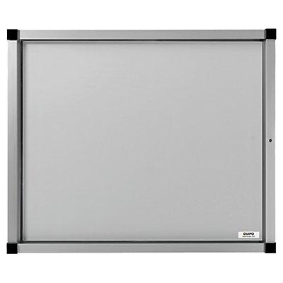 QUIPO Schaukasten, Flügeltür - 15 (3 x 5) DIN-A4-Blätter