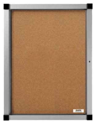 QUIPO Schaukasten, Flügeltür - 9 (3 x 3) DIN-A4-Blätter