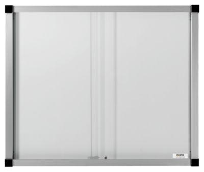 QUIPO Schaukasten, Schiebetüren - 15 (3 x 5) DIN-A4-Blätter