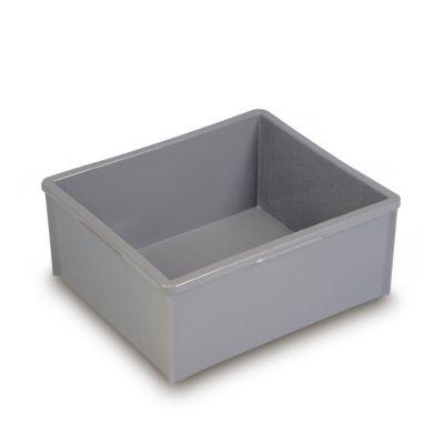 Stapelkasten aus Polyethylen, ohne Verstärkungsrippen - Inhalt 30 l