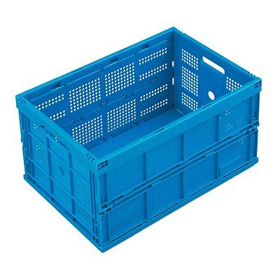 Faltbox aus Polypropylen - Inhalt 60 l, ohne Deckel