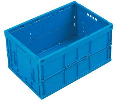 Faltbox aus Polypropylen - Inhalt 65 l, Ausführung geschlossen