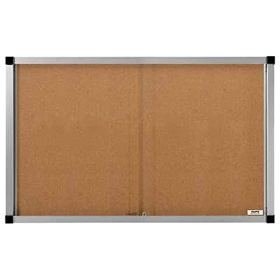 QUIPO Schaukasten, Schiebetüren - 21 (3 x 7) DIN-A4-Blätter