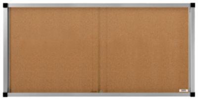 QUIPO Schaukasten, Schiebetüren - 27 (3 x 9) DIN-A4-Blätter