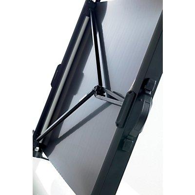 Smit Visual Leinwand als Tischmodell, mobil - Format 4 : 3