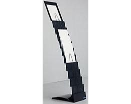 Design Prospektständer - 11 Fächer für DIN A4