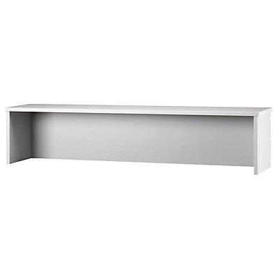 Hammerbacher VIOLA Thekenaufsatz - für Schreibtisch 1200 mm breit