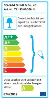 Gelenkleuchte E27 - Standardausführung, IP20 - für 14-W-Energiesparlampe