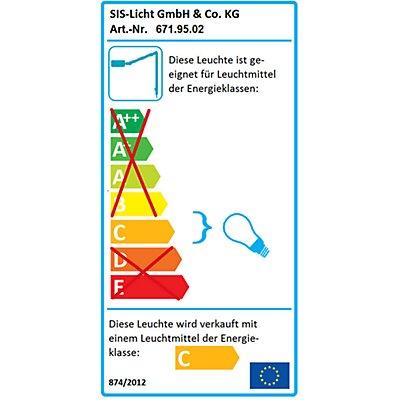 SIS Gelenkleuchte - Halogen-Gelenkleuchte - mit Niedervolt-Halogenlampe