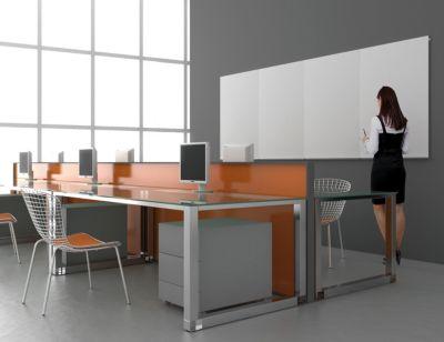 Whiteboard-Modul - 750 x 1150 mm - beliebig erweiterbar