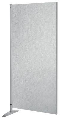 Stellwandsystem METROPOL - Holzwand mit Textilbezug - HxBxT 1750 x 800 x 450 mm