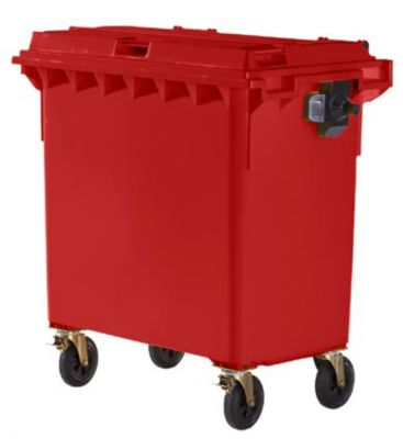 Kunststoff-Großmüllbehälter, nach DIN EN 840 - Volumen 770 l
