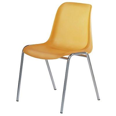 chaise coque en plastique. Black Bedroom Furniture Sets. Home Design Ideas