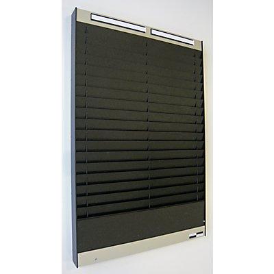 Tableau de tri - 2 x 18 casiers A5, position horizontale des documents
