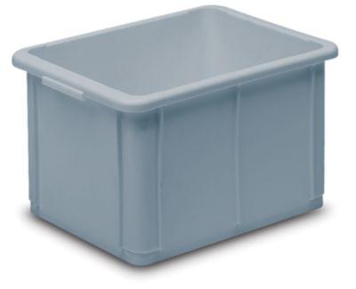 Stapelbehälter aus Polypropylen - Inhalt 20 l, Außenmaße LxBxH 400 x 300 x 232 mm
