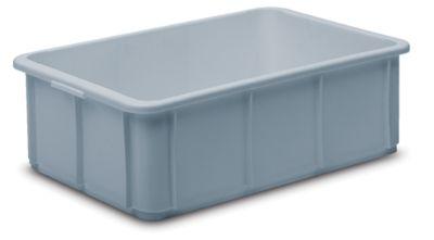 Stapelbehälter aus Polypropylen - Inhalt 20 l, Außenmaße LxBxH 600 x 400 x 125 mm
