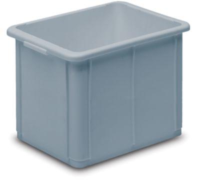 Stapelbehälter aus Polypropylen - Inhalt 30 l, Außenmaße LxBxH 400 x 300 x 339 mm