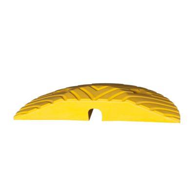 Abschlusselement, Gummimischung - Breite 175 mm - gelb