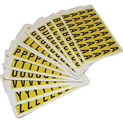 Schriftzeichenset - HxB 19 x 14 mm - Klebeziffern 0 – 9, 10 Karten