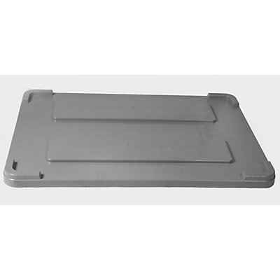 Capp Plast Deckel aus Polyethylen - für LxB 1200 x 800 mm, 550-l-Behälter