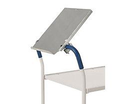 Kongamek Schreibplatte - LxB 330 x 250 mm, für Rohr-Ø 25 / 35 mm