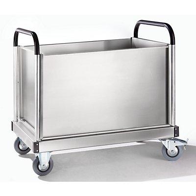 Seitenwand - einteilig - für Alu-Plattformwagen
