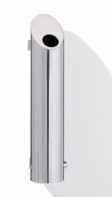 Edelstahl-Wandascher, abschließbar - HxBxT 500 x 120 x 170 mm