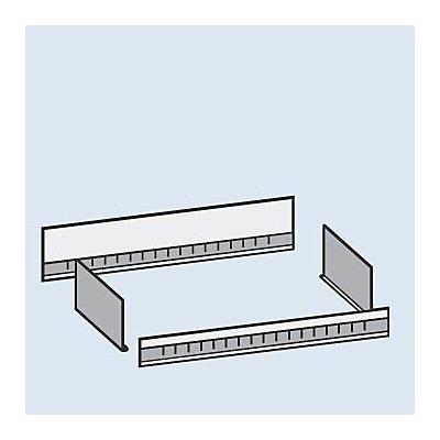 hofe Aufsatzmulde - Breite 1000 mm