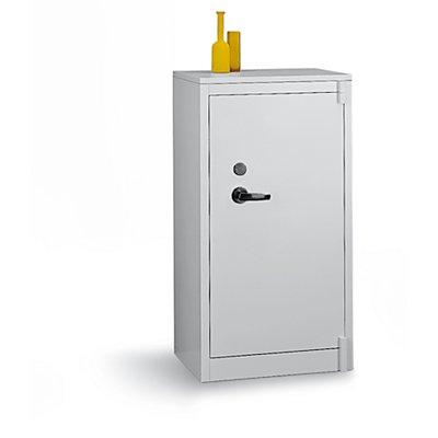 CP Stahlschrank, feuergeschützt - 2 Fachböden verstellbar