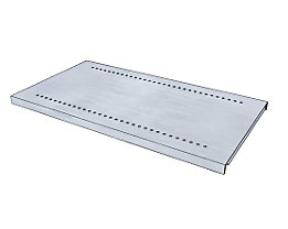 Fachboden für Regal-Schranksystem - verzinkt - BxT 930 x 500 mm