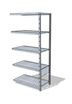 Steckregal-System - verzinkt, Höhe 1960 mm
