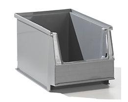 Sichtlagerkasten aus PE-Regenerat - Inhalt 2,6 l