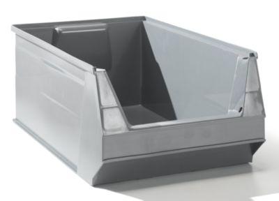 Sichtlagerkasten aus PE-Regenerat - Inhalt 23 l, VE 10 Stk