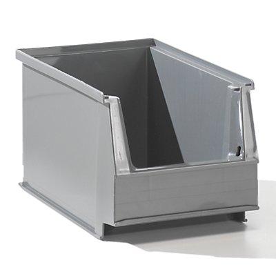 Sichtlagerkasten aus PE-Regenerat - Inhalt 2,6 l, VE 25 Stk