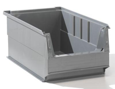 Sichtlagerkasten aus PE-Regenerat - Inhalt 7,2 l, VE 14 Stk