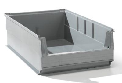 Sichtlagerkasten aus PE-Regenerat - Inhalt 16 l, VE 14 Stk