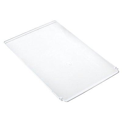 Deckel - VE 10 Stk, für LxB 350 x 205 mm - transparent