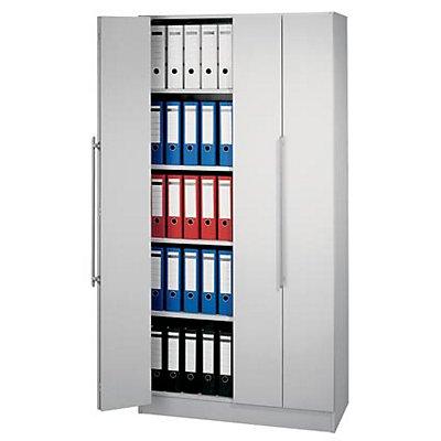 VIOLA Falttürenschrank - Öffnungswinkel 170°, 4 Fachböden