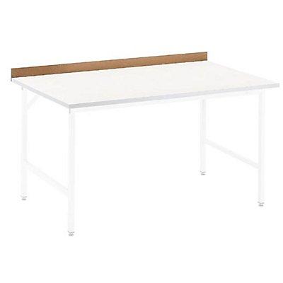 Bordleiste hinten - für Arbeitstisch - Tischbreite 1250 mm