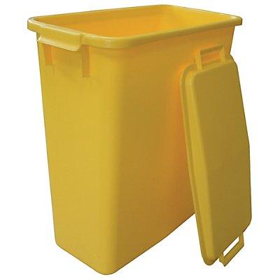 GRAF Steckdeckel, mit 2 Handgriffen - für Inhalt 60 l, lose aufliegend