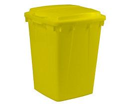 Mehrzweck-Behälter - Inhalt 90 l - LxBxH 510 x 485 x 600 mm, gelb