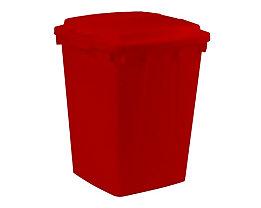 Mehrzweck-Behälter - Inhalt 90 l - LxBxH 510 x 485 x 600 mm, rot