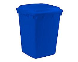 Mehrzweck-Behälter - Inhalt 90 l - LxBxH 510 x 485 x 600 mm, blau