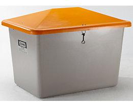 CEMO Streugutbehälter aus GfK - ohne Entnahmeöffnung - Inhalt 700 l, Gewicht ca. 30 kg