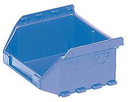 FUTURA-Sichtlagerkasten aus Polyethylen - Inhalt 0,4 l - VE 50 Stk, blau
