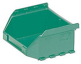 FUTURA-Sichtlagerkasten aus Polyethylen - Inhalt 0,4 l - VE 50 Stk, grün