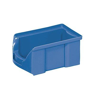 FUTURA-Sichtlagerkasten aus Polyethylen - Inhalt 0,9 l